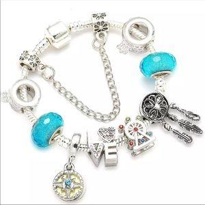 Jewelry - 20cm Brand New Dreamcatcher LOVE Charm Bracelet